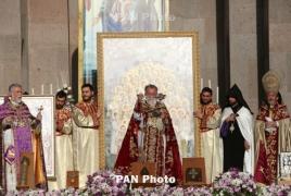 Հայոց ցեղասապանության 1.5 մլն զոհերը սրբադասվեցին