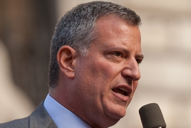 NY Mayor: there can't be closure on atrocity if we do not call it by name