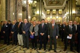 Uruguay leaders commemorate Armenian Genocide centennial