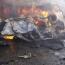3 suicide car bombs attack Iraq-Jordan border crossing
