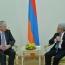 Президент Саргсян и Председатель Совета министров СЕ обсудили вопросы дальнейшего сотрудничества