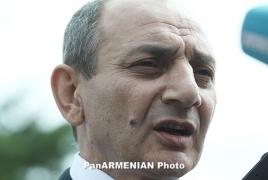 Бако Саакян: Воздушное пространство НКР надежно контролируется арцахскими вооруженными силами
