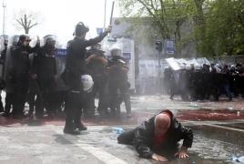 Демонстрацию в Стамбуле разогнали слезоточивым газом и водометами: Арестовано 200 человек