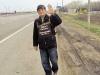 Поход в честь 70-летия Победы: 76-летний пенсионер из Еревана, пройдя 2200 км, дошел до Москвы