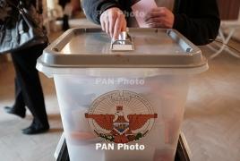 ЦИК Нагорно-Карабахской Республики подвел окончательные итоги выборов в парламент