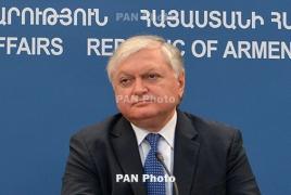 FM: Armenia seeks to continue comprehensive cooperation with EU