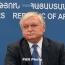 Налбандян: Цель Армении – продолжить путь к глубокому и всеобъемлющему сотрудничеству с ЕС