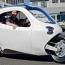 Двухколесный электромобиль: Он никогда не завалится на бок, как мотоцикл