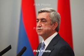 ՀՀ նախագահի ելույթը Ռիգայում. Ադրբեջանը շարունակում է սադրել՝ ձգձգելով ԼՂՀ հարցի կարգավորումը