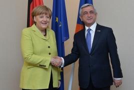 Նախագահ Սարգսյանը և Մերկելը Ռիգայում քննարկել են ՀՀ-ԵՄ հարաբերությունները