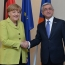 Sargsyan, Merkel talk German stance on Genocide, Armenia-EU prospects