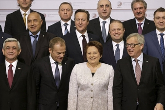 Riga summit declaration contains provision on conflict settlement