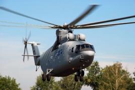 В России начинается серийное производство тяжелого транспортного вертолета Ми-26Т2