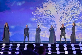 Armenia finishes 16th in Eurovision grand final