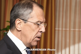 """Russia's Lavrov views Karabakh issue with """"with cautious optimism"""""""
