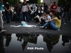 Sit-in to protest electricity hike underway in Yerevan