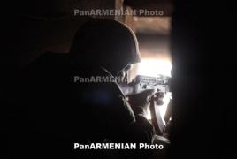 Relative calm at contact line: 150 Azeri ceasefire violations June 14-20