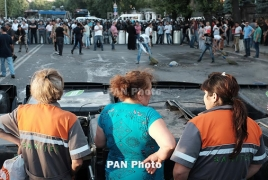 Rally against electricity price hike in Yerevan renewed