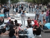 Demonstrators allowed another night at Baghramyan Ave.