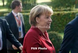 Merkel: Europe's future not at stake in Greek crisis