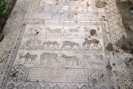 Mosaic containing Bible verses discovered in Turkey