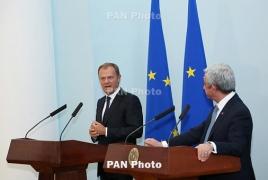 Глава Европейского совета – о карабахском конфликте, визовом режиме и перспективах сотрудничества с Арменией