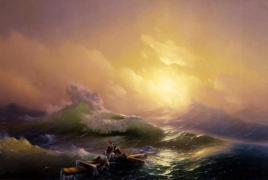Այվազովսկու «Իններորդ ալիքը»` աշխարհի 10 լավագույն ծովանկարների ցանկում