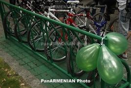 Yerevan hosts cycling race marking Genocide centennial