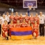 Բասկետբոլի հայ պատանի աղջիկները՝ Եվրոպայի առաջնության C դիվիզիոնի արծաթե մեդալակիր