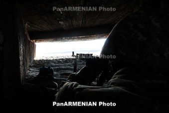 Ceasefire violations continue: Azeris fire 2500 shots in one day
