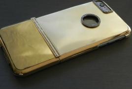 Ювелирный дом создал iPhone 6 Plus из чистого золота