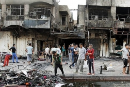 At least 60 killed, 200 wounded in Baghdad market explosion