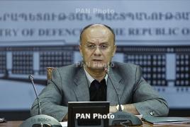 Armenian Defense Minister says NKR-Azeri contact line under control