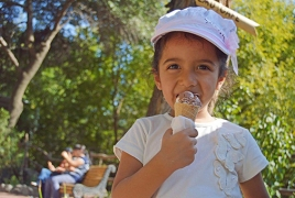 Yerevan Zoo hosts Ice Cream Day, grants free entry to kids under 16