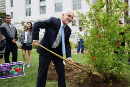 100 pomegranate trees to be planted in LA to commemorate Genocide