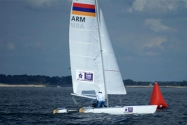 Armenian sailors win Tornado Open World Championship in France