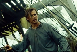 Chris Hemsworth as embattled sailor in