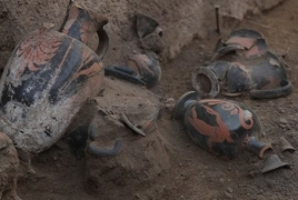 Во время раскопок в Помпеях обнаружена гробница почти 2500-летней давности