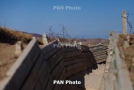 Азербайджан сообщил об убитом и раненых военнослужащих в столкновениях с армянскими ВС
