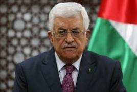 Palestine's Abbas accuses Israel of sabotaging U.S. peace efforts