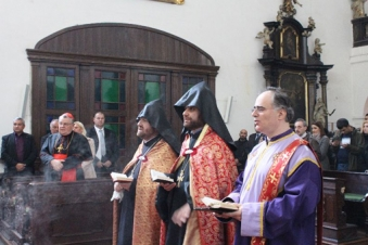 Church of Holy Spirit in Prague transferred to Armenian parish