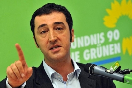 Germany's Green Party leader urges Europe to halt talks with Turkey