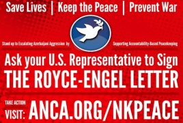 85 Congress members issue bipartisan call for Karabakh peace