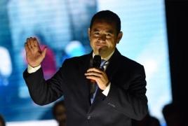 Ex-comedian wins Guatemalan presidency in landslide