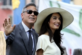 George and Amal Clooney to visit Armenia next year