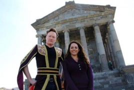 Late-night host Conan O'Brien talks Armenia trip, upcoming episode