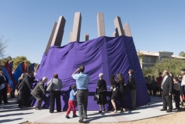 Armenian Genocide memorial unveiled in Las Vegas