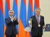 ՀՀ նախագահը ՏՏ ոլորտում համաշխարհային ներդրման համար մրցանակը հանձնել է Եվգենի Կասպերսկուն