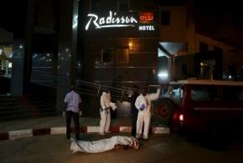 В результате нападения на гостиницу в столице Мали погибло 19 человек: В стране введен режим ЧП