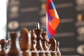 Armenia men's team wins silver at European Chess Championship